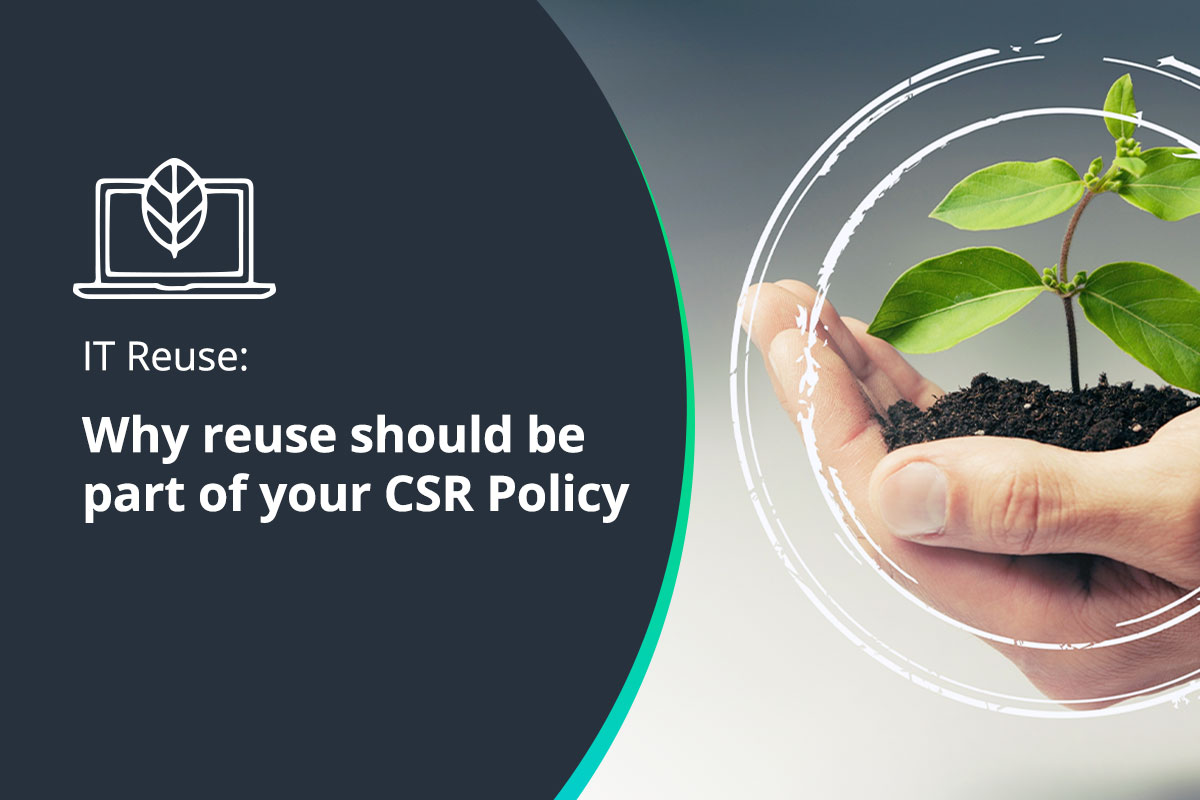 Is IT Reuse part of your Corporate Social Responsibility Policy?