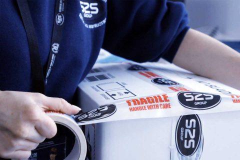Technician packing assets