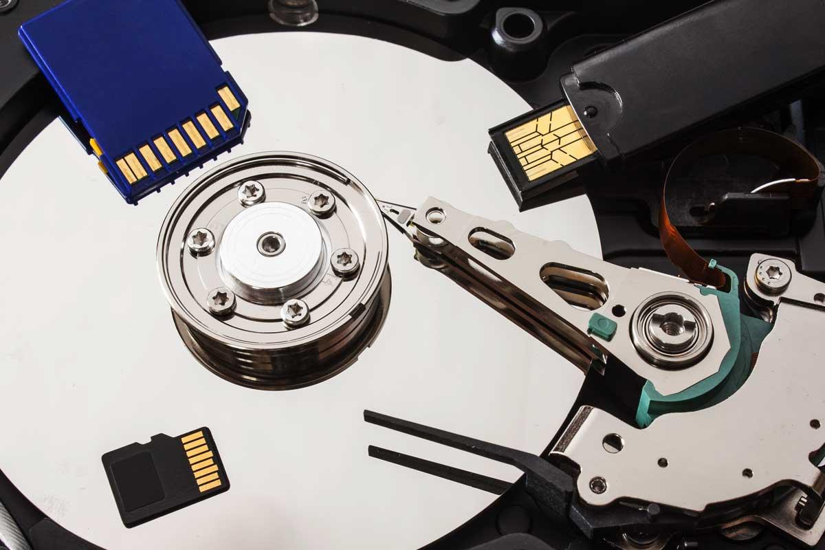 image of data storage