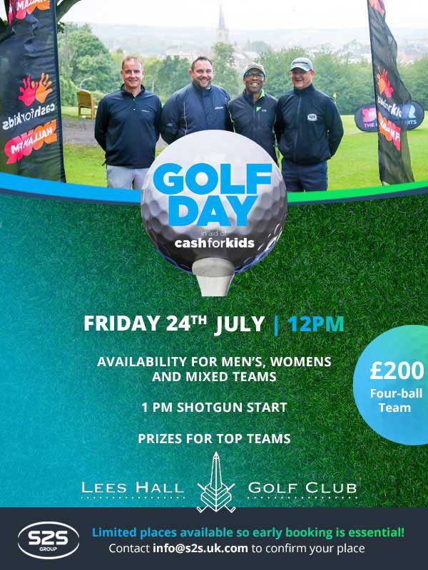 Golf Day flyer