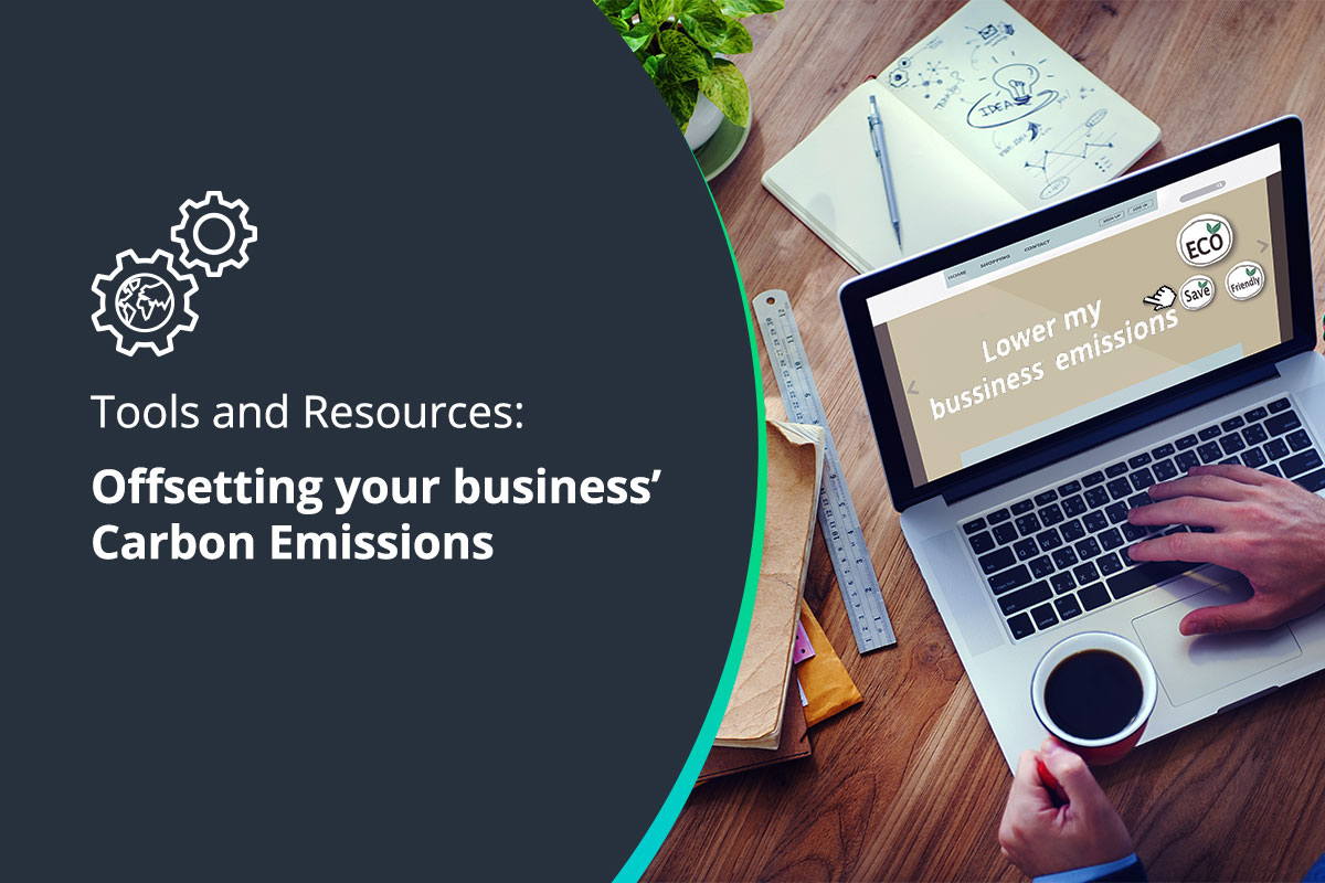 Tools and resources to help you offset your business' Carbon Emissions