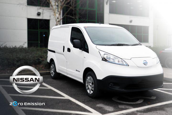 Nissan Electric Van zero emissions