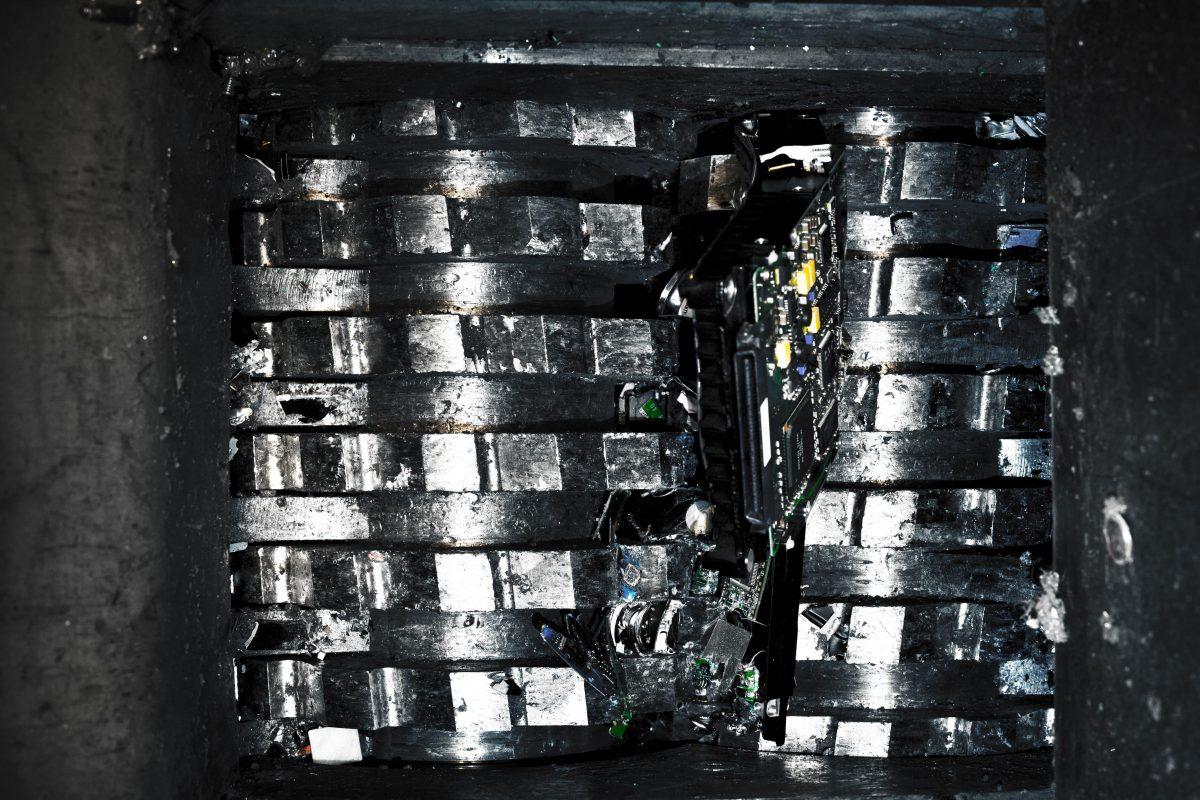 specialist shredder machine