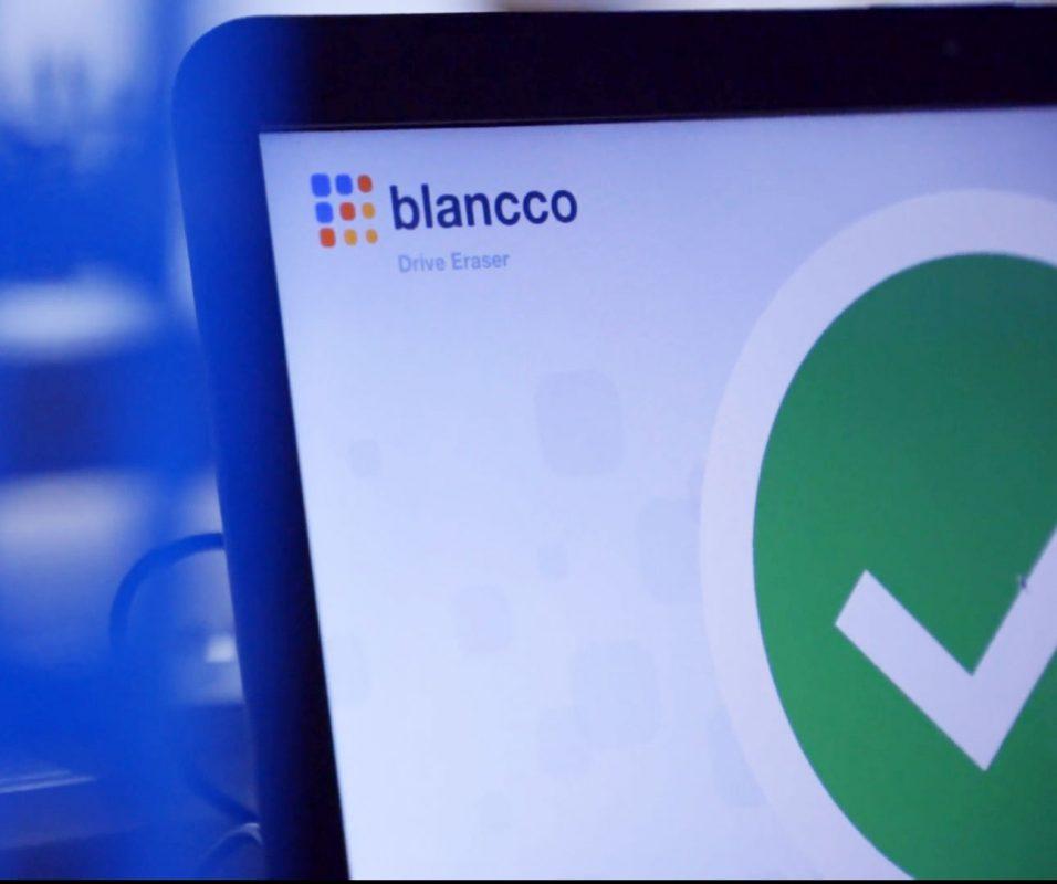 blancco used on computer
