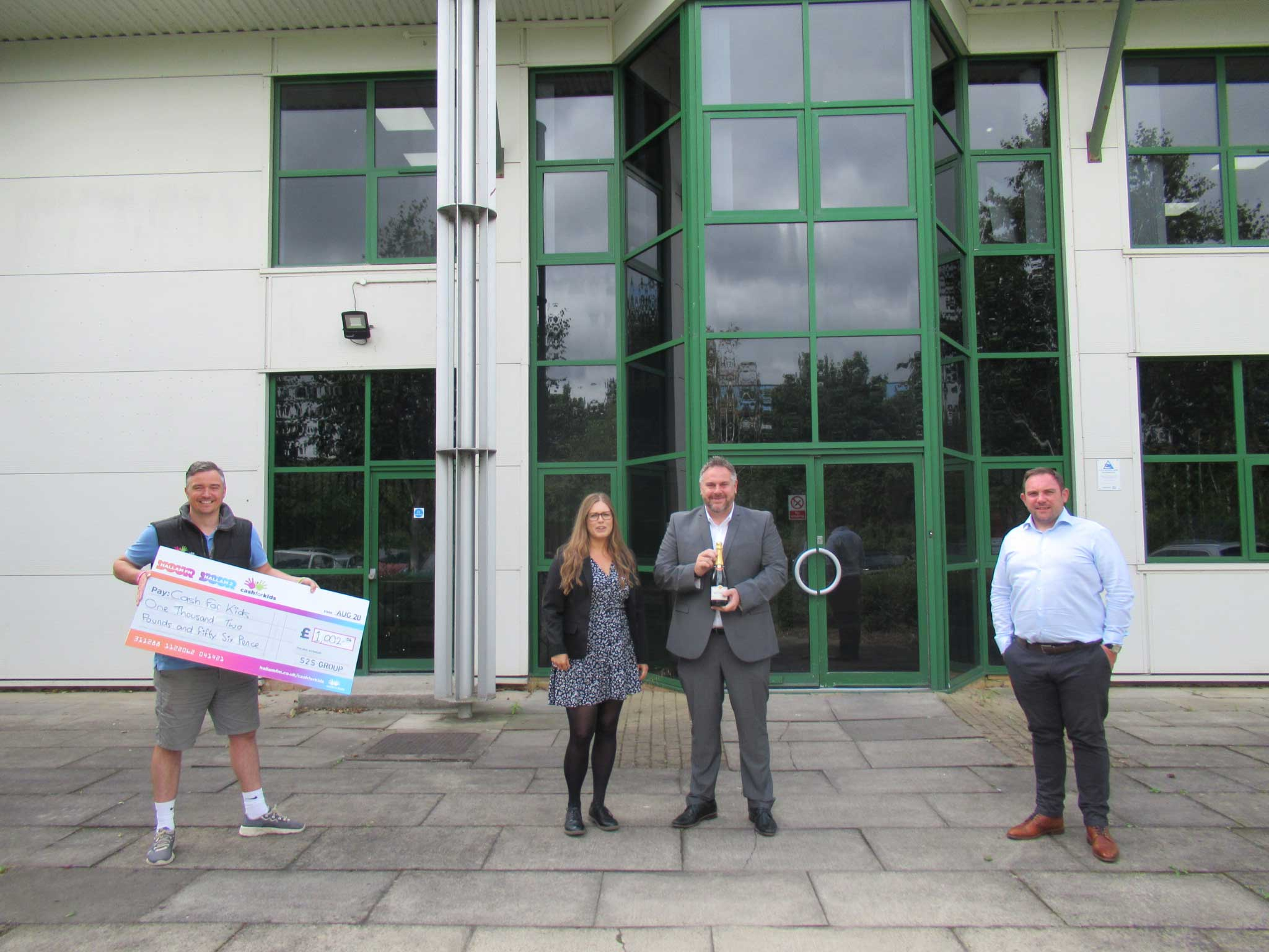 S2S Virtual Golf Day raises £1,002.56 for Cash for Kids