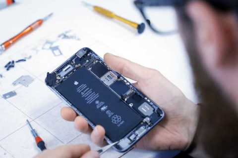 Technician repairing device