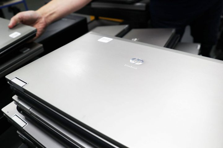 image of laptops ready for deployment