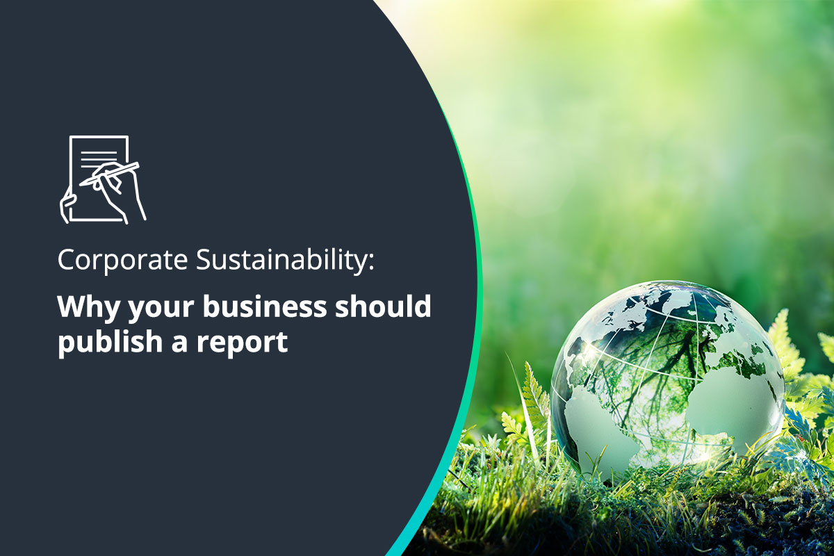 Why your business should publish a corporate sustainability report