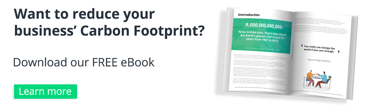 carbon footprint eBook banner