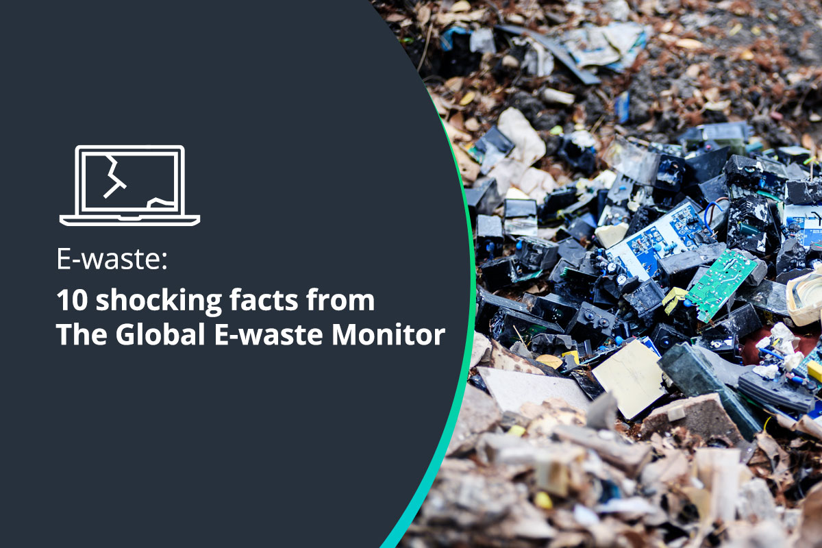 E-waste facts from The Global E-waste Monitor article header
