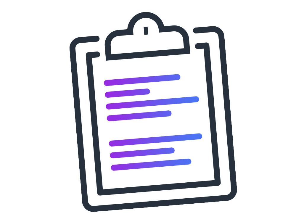 clipboard icon