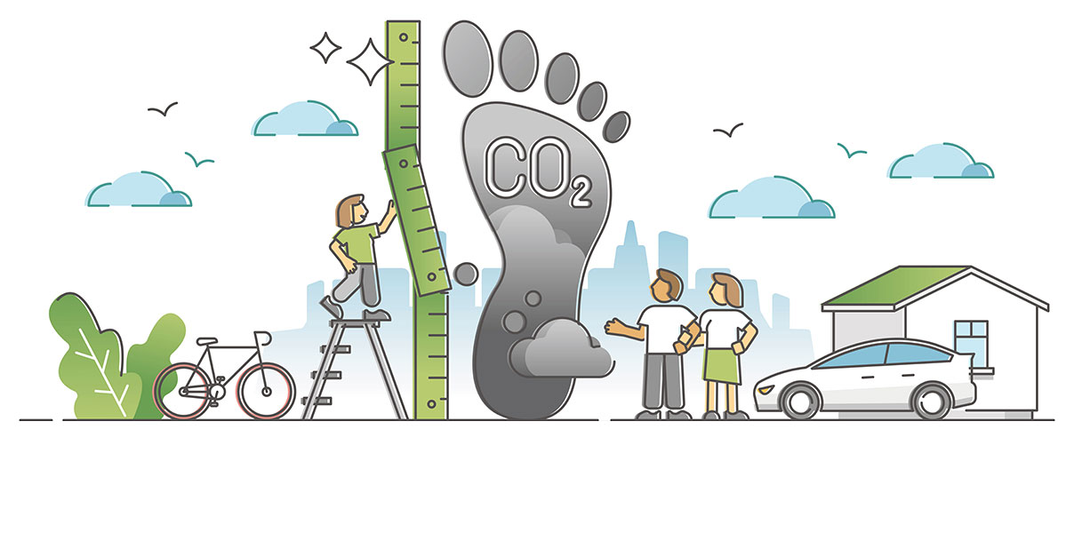 Measuring carbon footprint