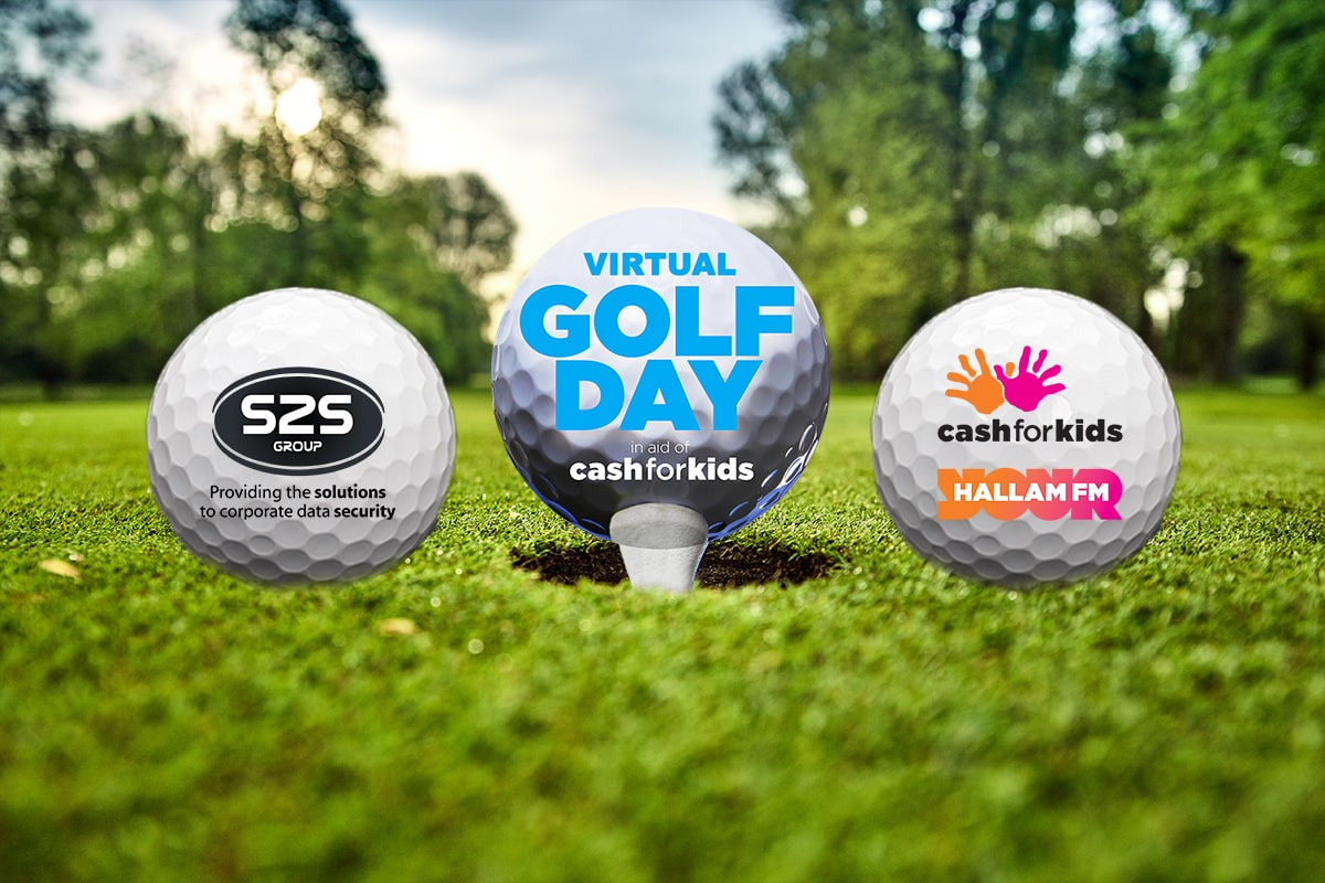 Take part in our tee-rific virtual Golf Day to raise money for Cash for Kids
