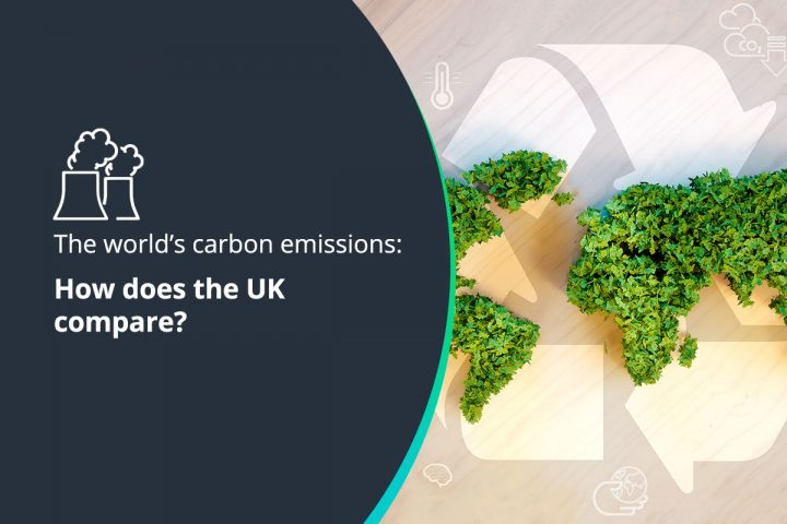 The world's carbon emissions - how does the UK compare?