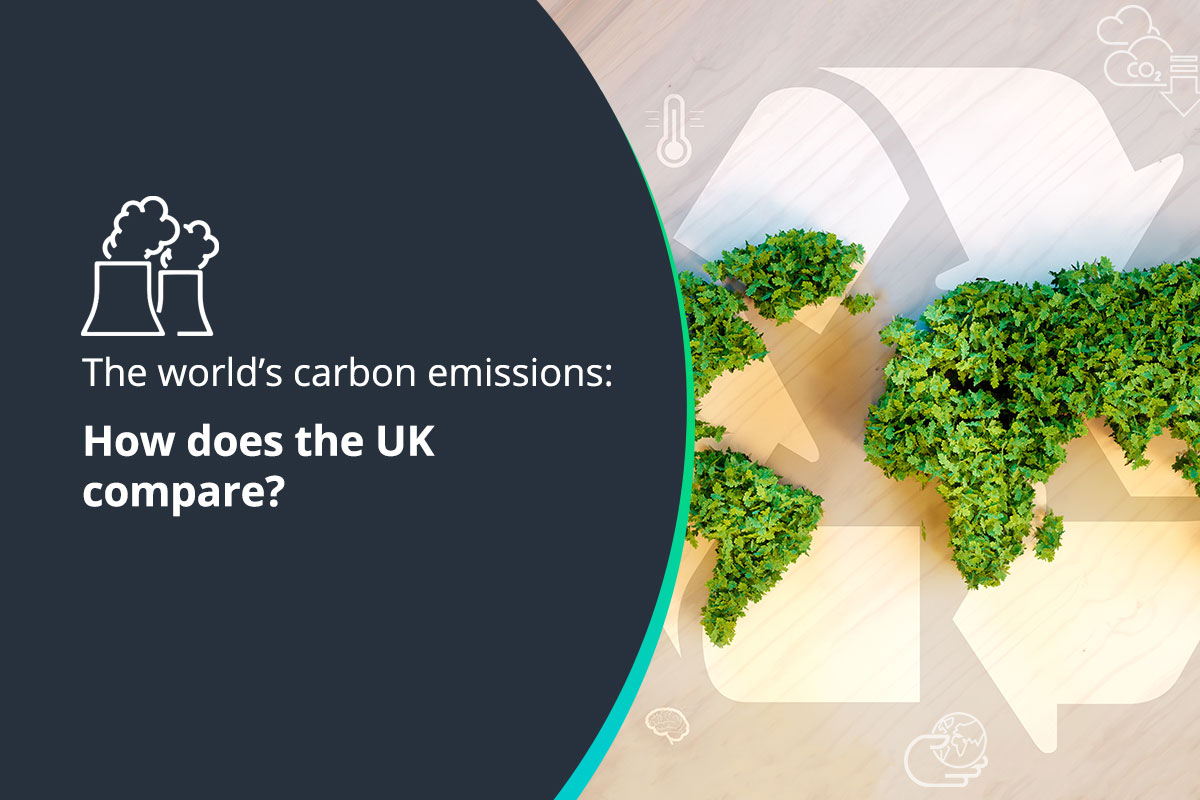 The world's carbon emissions- how does the UK compare?
